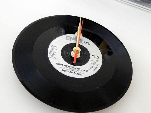 Vinyl Clocks Valentines Day Gift