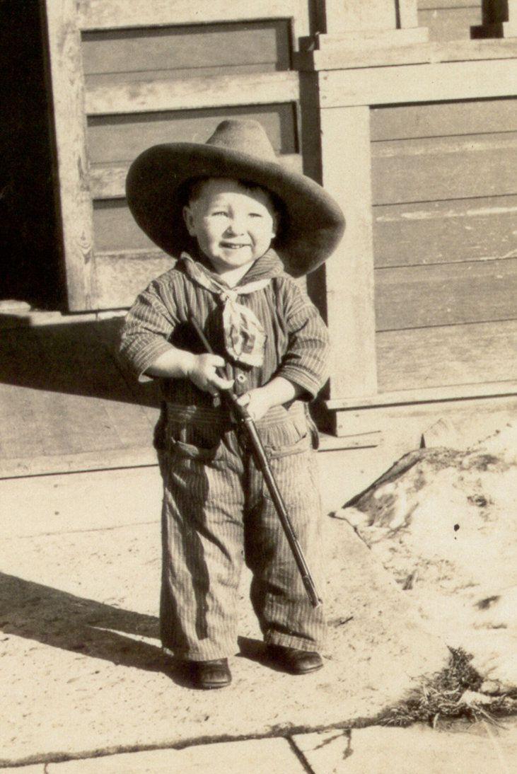 vintage cowboy photos   Vintage Cowboy 1930, Wyo by Brightstone