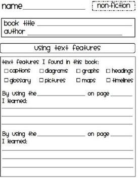 8 Reading Response Activities/Graphic Organizers - Fiction