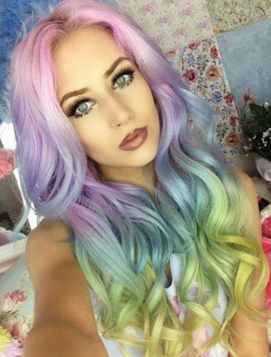 Best 25+ Funky hair colors ideas on Pinterest   Fantasy ...
