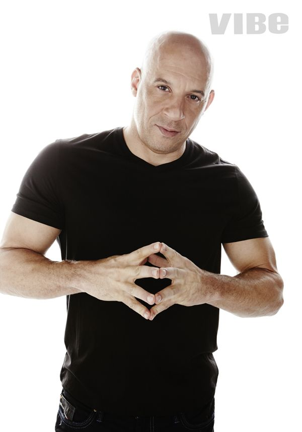 #Furious7's Vin Diesel poses at the digital cover shoot for VIBE Magazine. Read his full cover story here:  http://www.vibe.com/2015/03/vin-diesel-furious-7-one-groundbreaking-important-film-of-the-millennium/