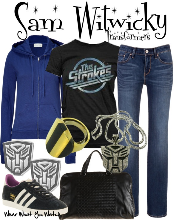 Inspired by Transformers character Sam Witwicky played by ...