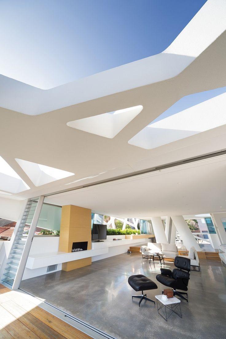 Creative Architecture in Australia #livingroom