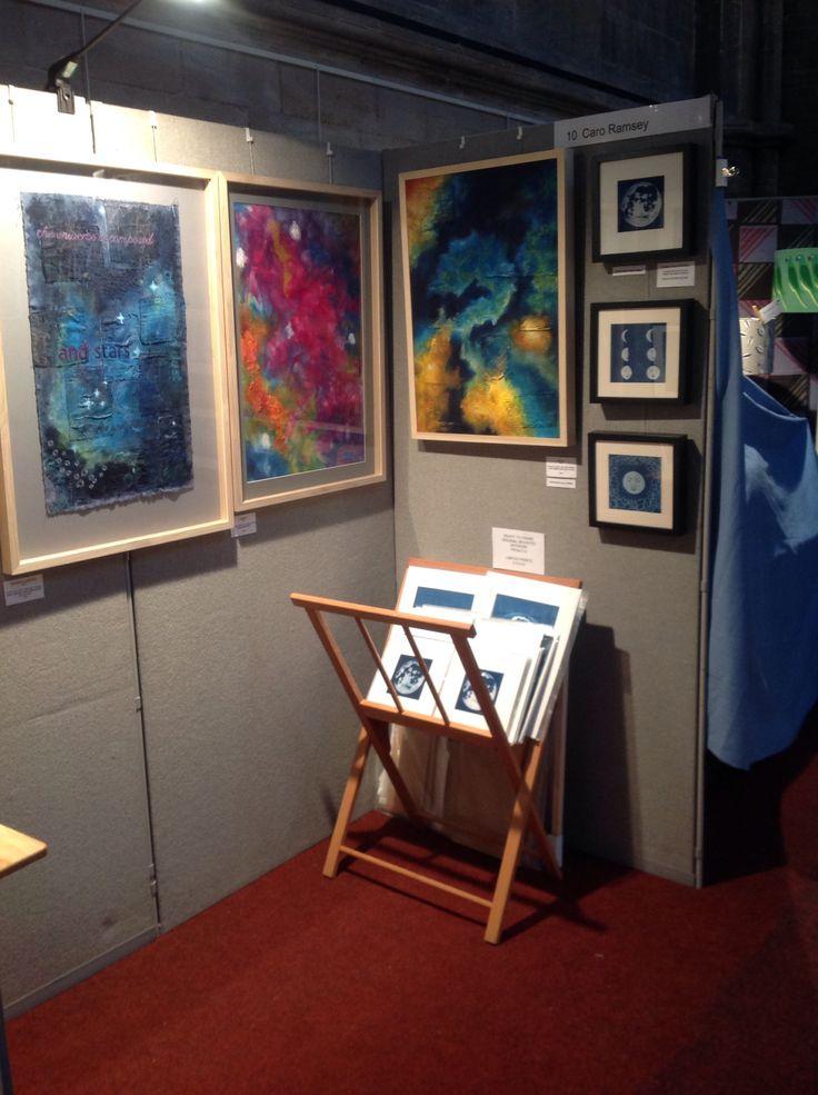 My stall at the Contemporary Textile Fair, Landmark Arts Centre in Teddington. 18-20 March 2016