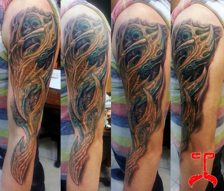 63 best bio organic mechanical tattoos images on pinterest for Organic tattoo ink