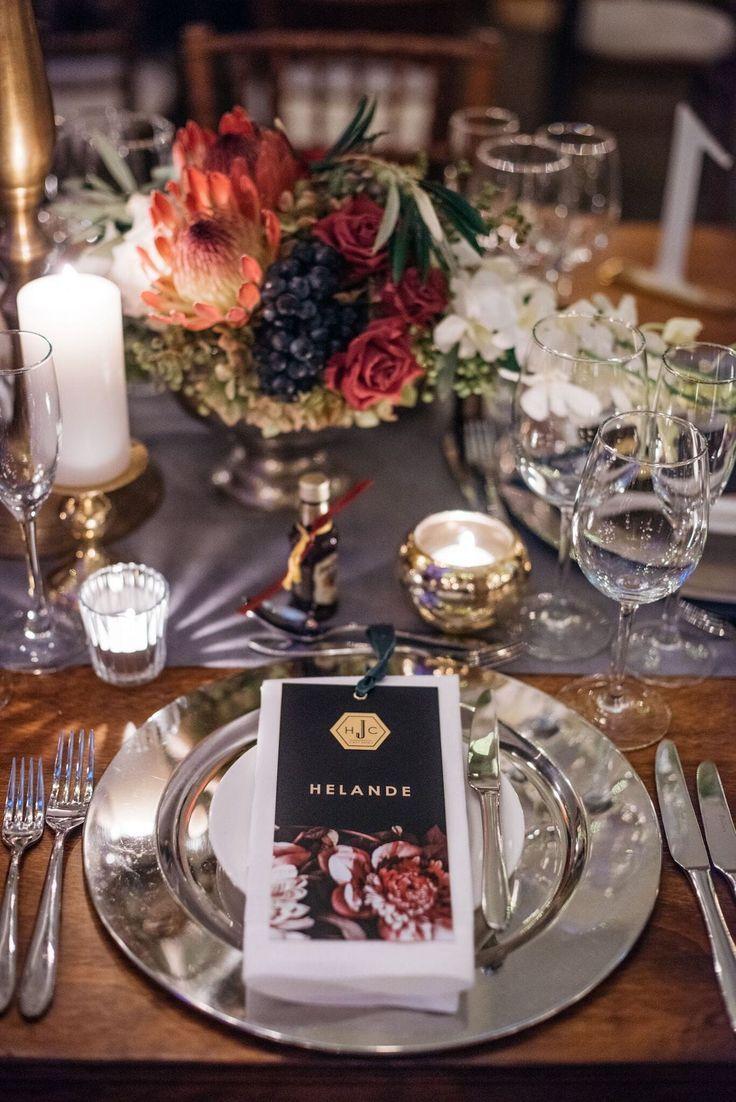 Chic Autumn Wedding by Wedding Concepts & MvR Film | SouthBound Bride