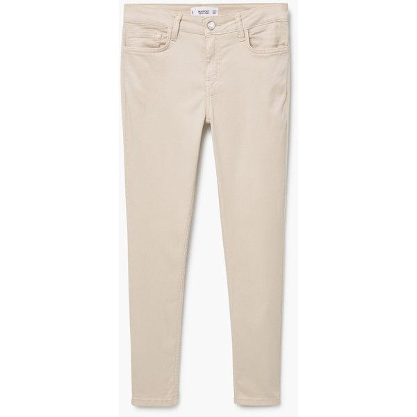 Skinny Peach Jeans ($45) ❤ liked on Polyvore featuring jeans, zipper skinny jeans, 5 pocket jeans, peach jeans, super skinny jeans and pink jeans