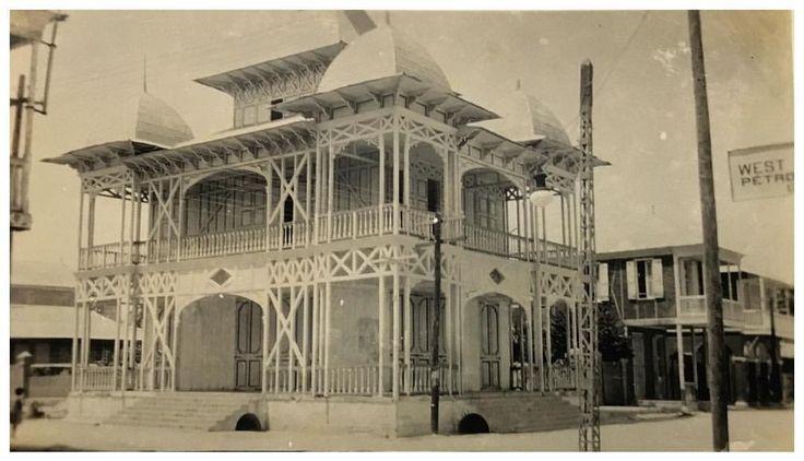 Musée du Centenaire , Gonaives Haiti c.1904 #vintage #museum #1904 #haiti #gonaives #haitian #palais #centenaire