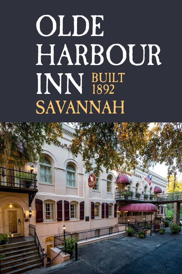 Olde Harbour Inn Is A Pet Friendly Family Friendly Hotel On Savannah S River Street Savannah Hotels Family Friendly Hotels Savannah Ga Hotels