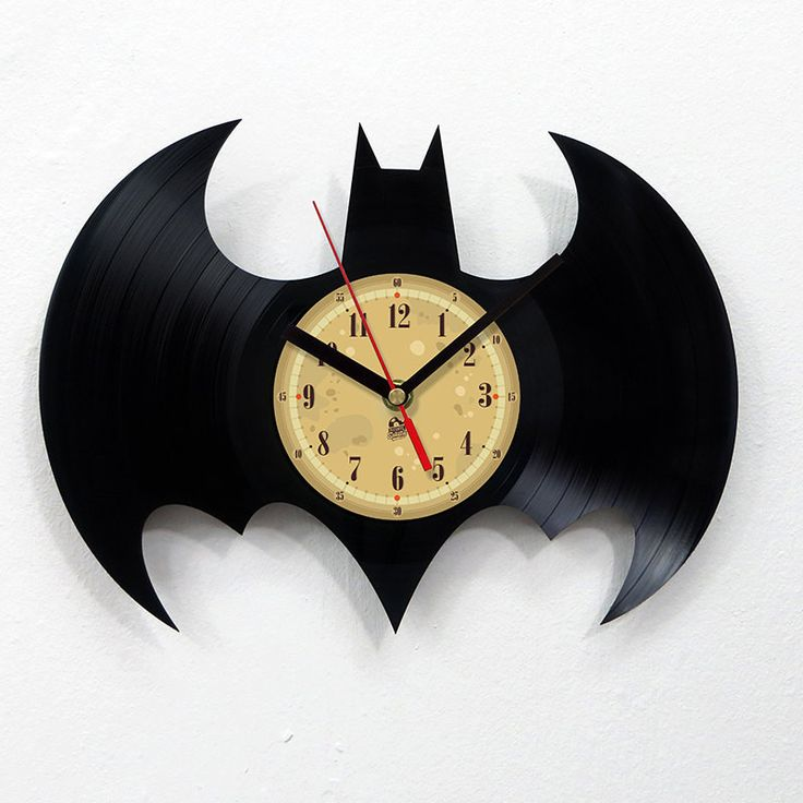 Vinyl Record Clock - Batman