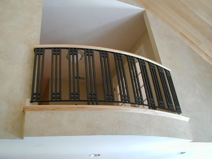 61 best images about art deco railings on pinterest iron for Indoor balcony railing