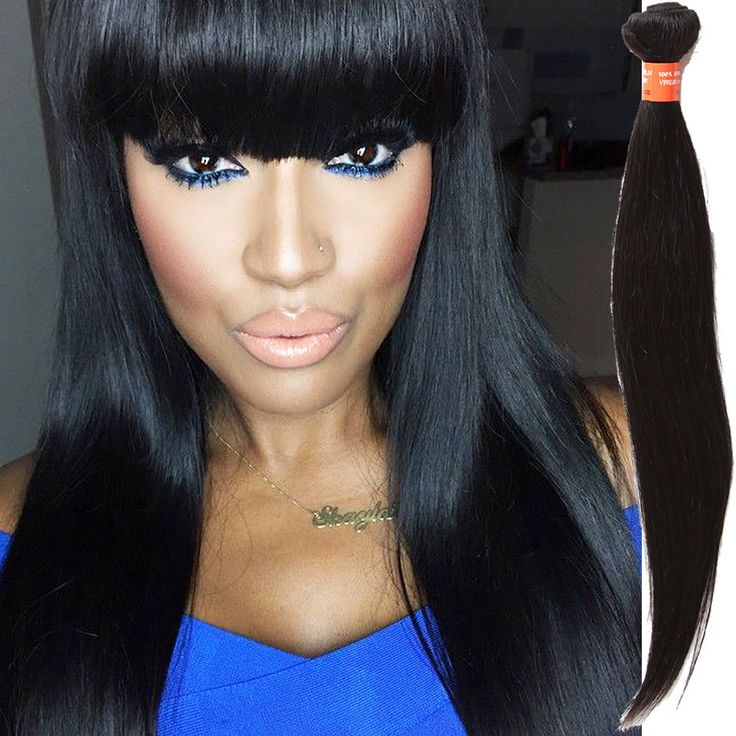 Real Black Hair Extensions Uk Remy Indian Hair
