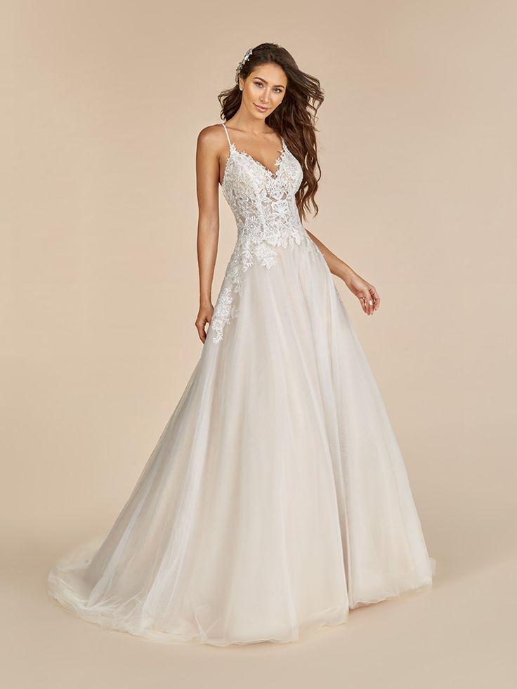 Full A Line V Neck Tulle Moonlight Tango Wedding Dress Style T890 In 2020 Wedding Dress Styles Wedding Dresses Wedding Dresses Sydney
