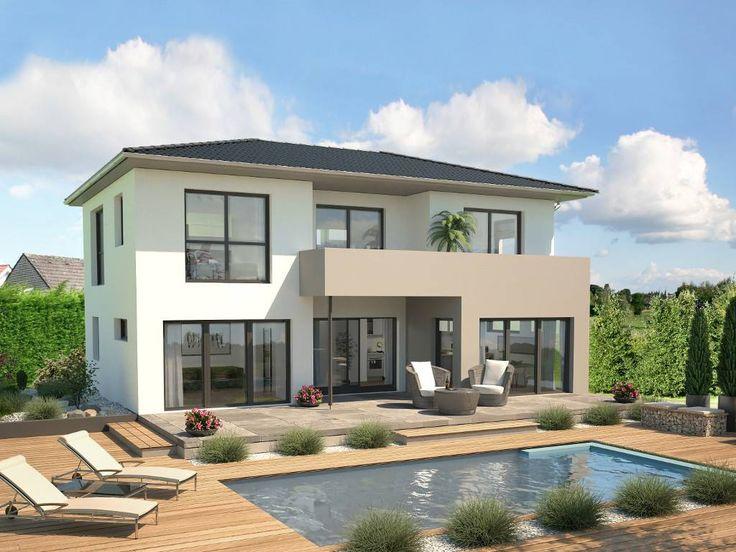 Haus bauen modern walmdach  Die 11 besten Bilder zu Haus bauen auf Pinterest