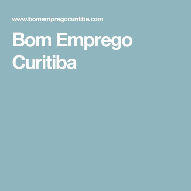 Bom Emprego Curitiba
