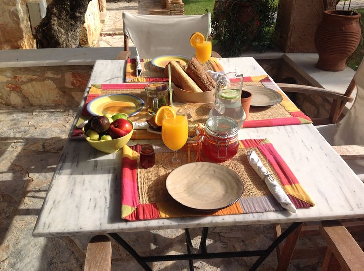 Start your day with a fresh and full of #vitamins #breakfast! #PaliokalivaVillage