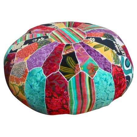 You should see this Moroccan Patchwork Pouffe on Daily Sales!