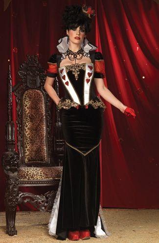Rainha de Copas: Deluxe Regal, Ideas, Heart, Halloween Costumes, Queens, Red Queen Costume, Alice In Wonderland Costume, Regal Red, Alice And Wonderland Costumes