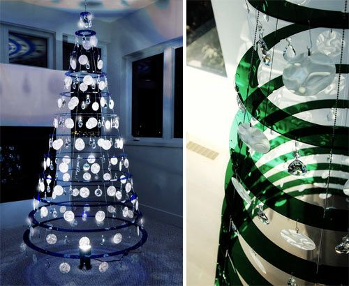 Modern Christmas Tree Decorations 17 best contemporary christmas trees images on pinterest | xmas