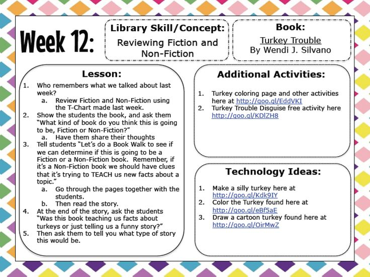 Back To School Elementary Library Lesson Plans - 1000 ...