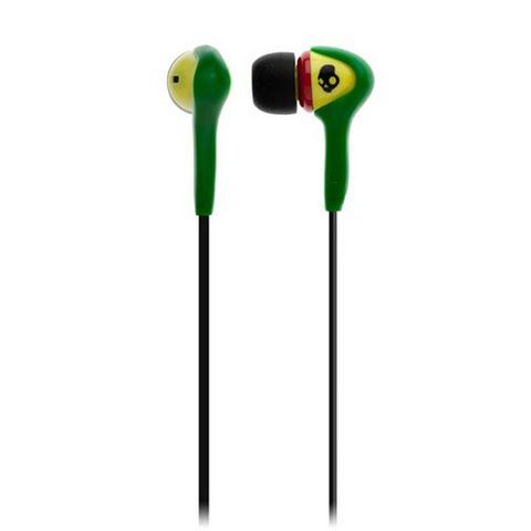 Skullcandy Smokin ` Buds Mic ` D Stereo Earbuds ( Discontinued ) - Rasta: Smokin` Buds are designed to hook… #OutdoorGear #Camping #Hiking