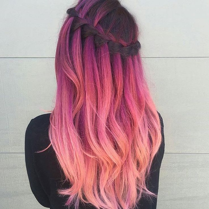"""3,132 Likes, 37 Comments - ISA Professional (@isa.professional) on Instagram: """"Awesome pink color melt by @shmeggsandbaconn! #hair #hairinspo #hairgoals #hairenvy #pinkhair…"""""""