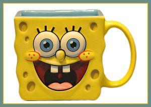 Spongebob Squarepants Square Sculpted Mug