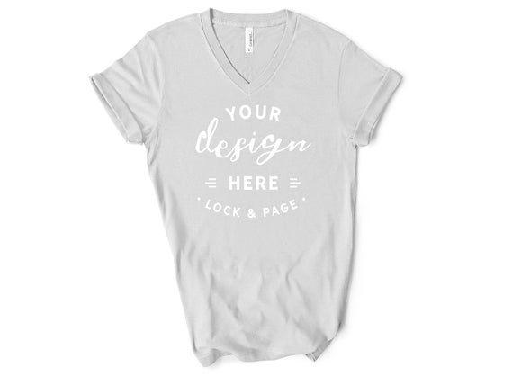 Download Best Free Silver Bella Canvas 3005 Vneck T Shirt Mockup Short Psd Free Psd Mockup Templates Mockup Free Psd Free Psd Mockups Templates Shirt Mockup