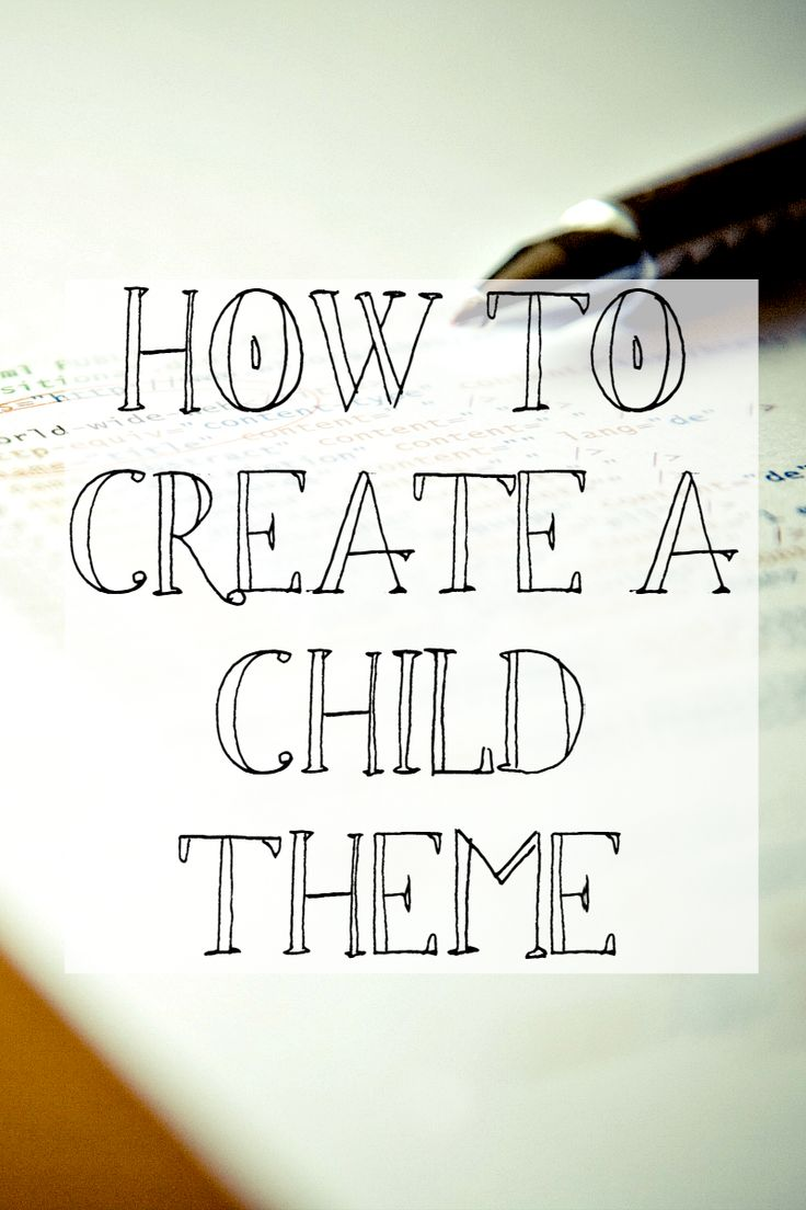 How to Create a Child Theme --- An easy to understand tutorial @cnhartman2 : Featured Post on Turn it up Tuesdays