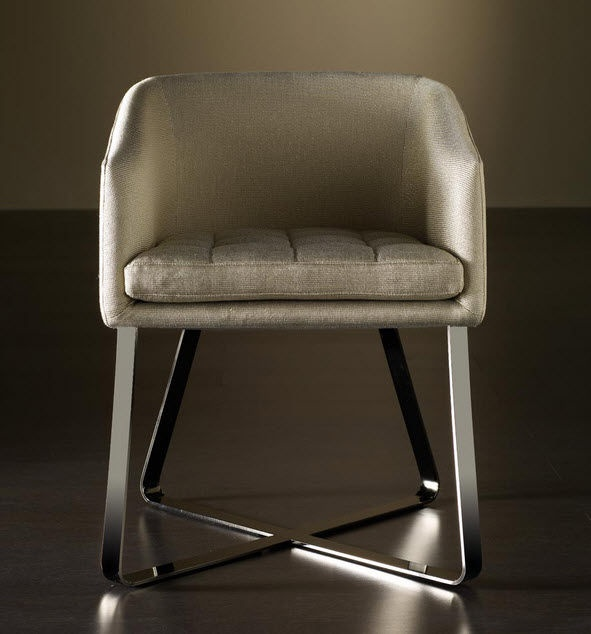 contemporary armchair LOLITA  MERIDIANI