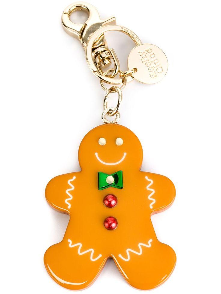See By Chloé Gingerbread Man Keyring - - Farfetch.com