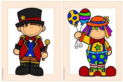 "Englisch in der Grundschule: Flashcards/Wordcards ""At the circus"""