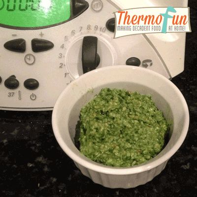 Post image for ThermoFun – Baby Spinach with Cashew & Parmesan Dip Recipe