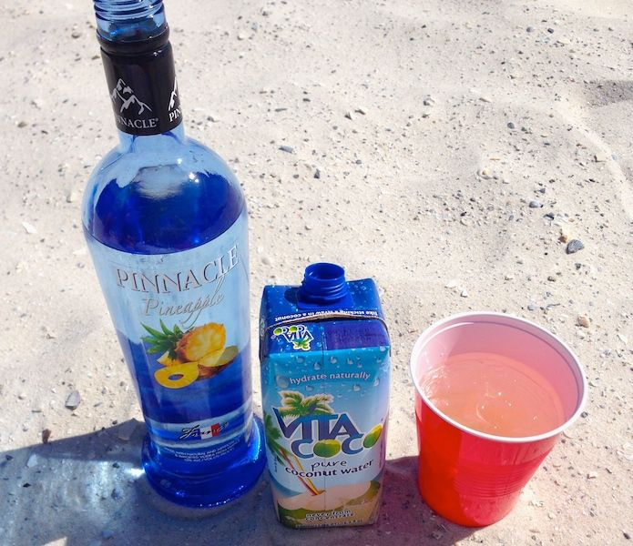 A refreshing, delicious cocktail that also hydrates you? Summer can start now. #PinnacleVodka