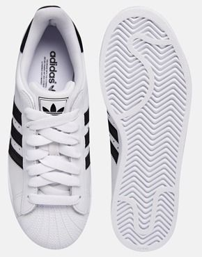 Agrandir Adidas Originals - Superstar II - Baskets - Blanc