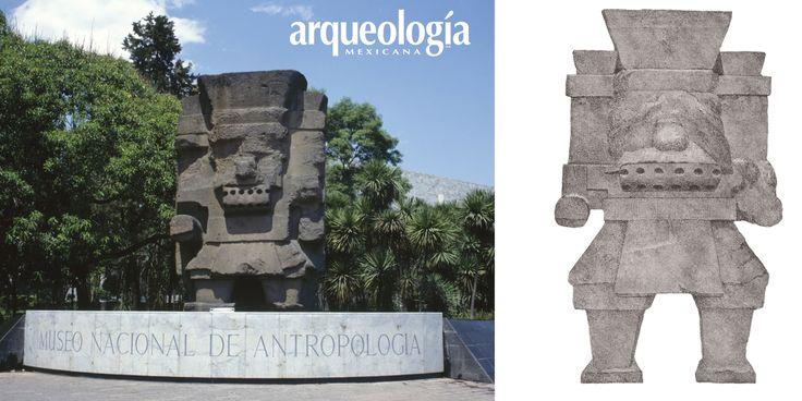 ¿Es Tláloc la escultura que está en el Museo Nacional de Antropología en…