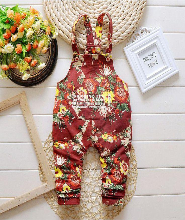 2017 Весна Осень милые девушки джинсовые комбинезоны Дети джинсы Брюки красный синий Дети мальчики Комбинезон Брюки новорожденных девочек одежда DY149D #shoes, #jewelry, #women, #men, #hats, #watches, #belts