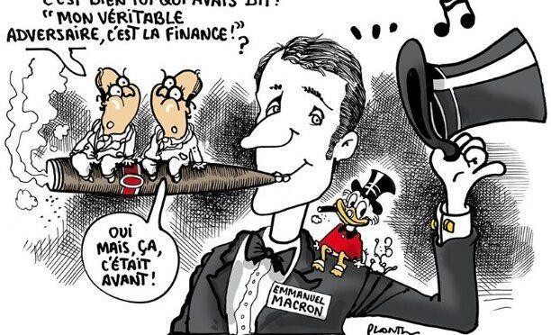 Les proches de Macron aiment les paradis fiscaux
