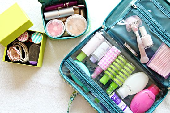 IHeart Organizing: Monthly Organizing Challenge: Traveling with Toiletries