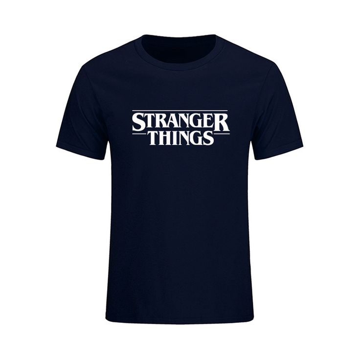 Newest 2017 Fashion Stranger Things T Shirt Men Brand Clothing Funny T-shirt Novelty Cool Tops Tees Men's Short Sleeve Costumes #Affiliate