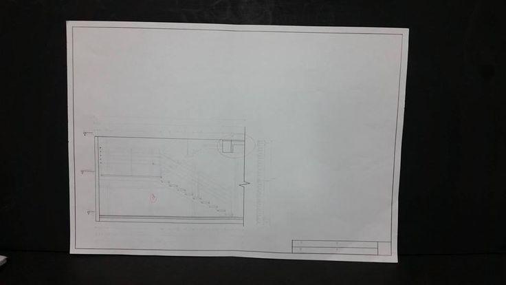 Escaleras / Corte