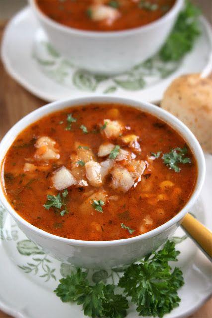 Zupa rybna z warzywami | sio-smutki! Monika od kuchni