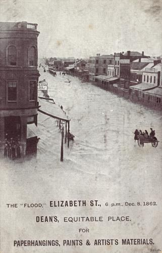 The 'flood', Elizabeth Street | Ergo