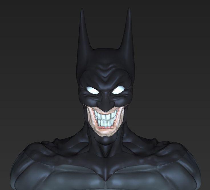 VIDEO: Batman JOKER - por Riujii takasu mirar tambien Los renders de este Proyecto en mi tablero de modelado :) suscribanse
