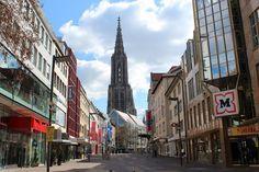 In Ulm, around Ulm and around Ulm - Around the Ulmer Münster - Sun & Clouds