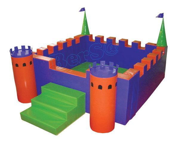 BKK 0409 Küçük Kale Oyun Havuzu - Little Castle Playpool