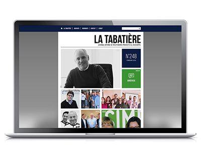 """Check out new work on my @Behance portfolio: """"La Tabatière Webzine"""" http://be.net/gallery/34710777/La-Tabatiere-Webzine"""