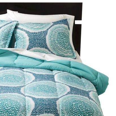 Room Essentials Medallion Doodle Reversible Comforter Dorm Room Pinteres