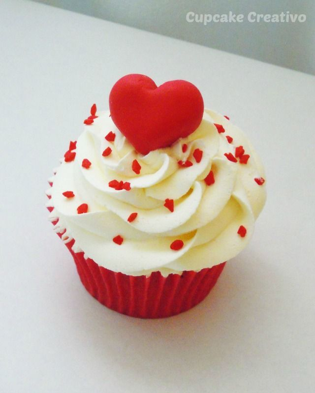 Cupcake Creativo: Postres Románticos para San Valentín