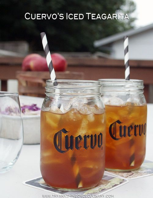 Jose Cuervo Iced Teagarita™ is a combo of an iced tea & margarita. No need to buy different bottles to mix this one!